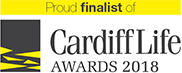 Finalist of Cardiff Life Awards