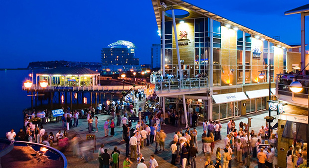 Cardiff Bay Nightlife