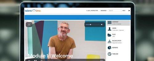online modules e-learning platform